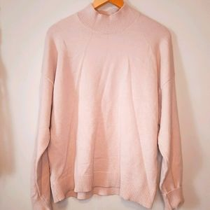 Verve Ami Super Soft Baby Pink Sweater